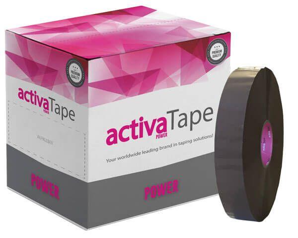 Braunes Maschinenklebeband - activaTape Power
