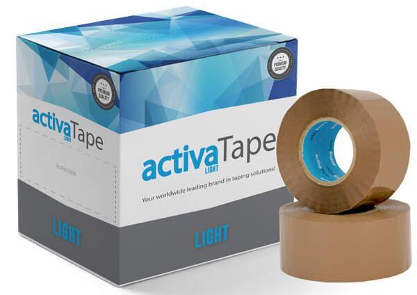 activaTape Light - Klebeband braun 48mm x 150 lfm