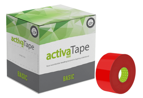 Red Adhesive Tape 48mm x 150m