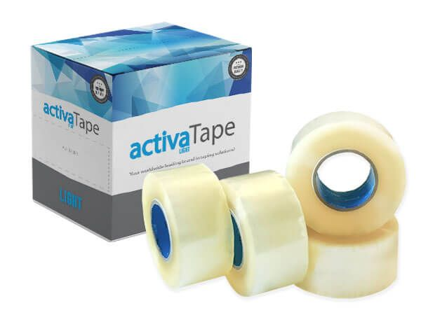 activaTape Light - Klebeband transparent 48 mm x 150 lfm
