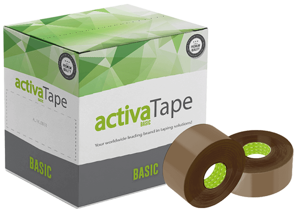 activaTape Basic - Klebeband braun 48mm x 150 lfm