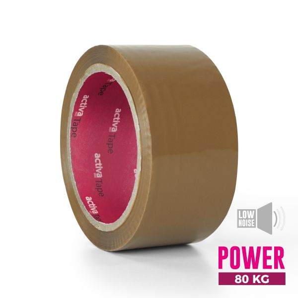 Low-Noise Adhesive Tape Brown 48mm x 66m