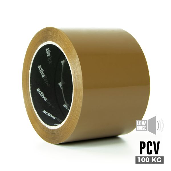 Low-Noise Adhesive Tape brown 72mm x 66m
