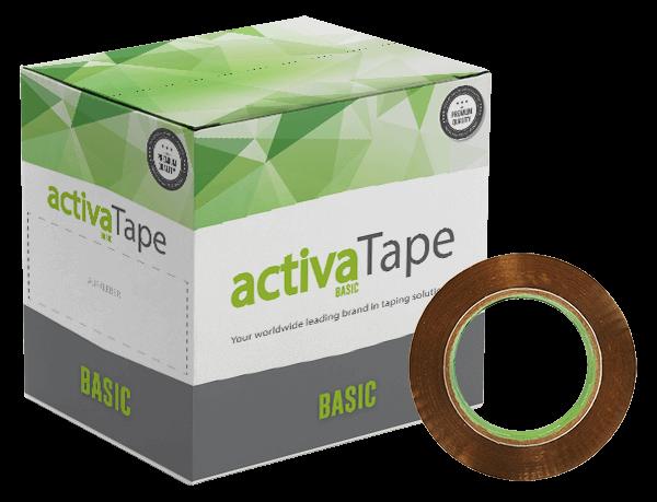 activaTape Basic - Paketklebeband braun 48 mm x 132 lfm