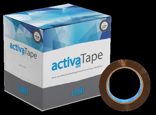 activaTape Light - Paketklebeband braun 48 mm x 132 lfm
