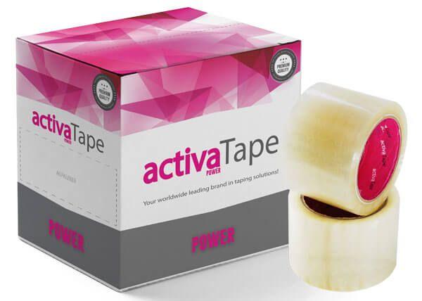 activaTape Power - Packband transparent 72 mm x 66 lfm