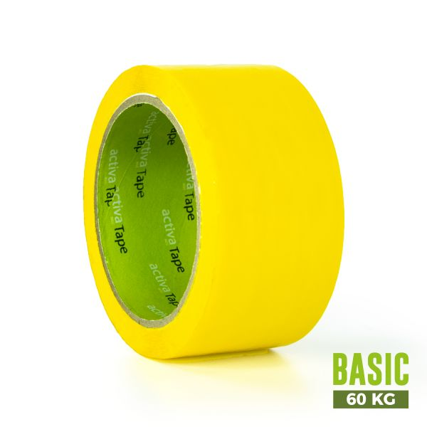 Yellow Adhesive Tape 48mm x 66m