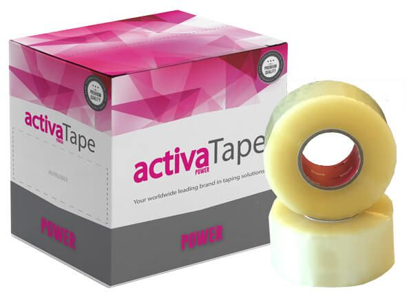 activaTape Power - Paketklebeband transparent 48 mm x 150 lfm