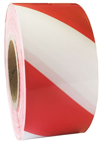 Absperrband Rot Weiß