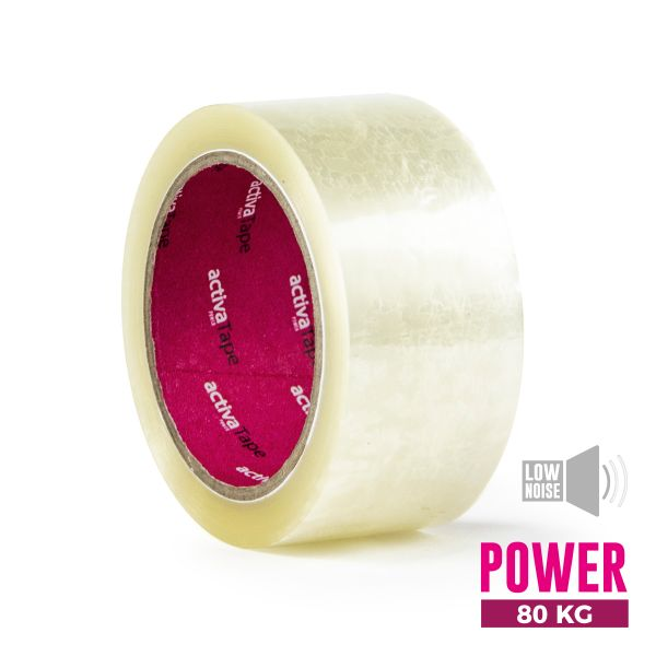 Low-Noise Adhesive Tape Transparent 48mm x 66m