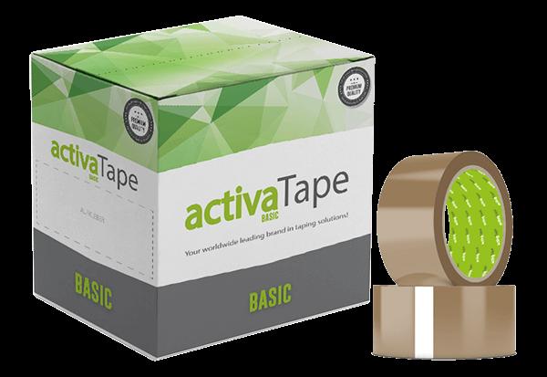 activaTape Basic - Klebeband braun 48mm x 66 lfm