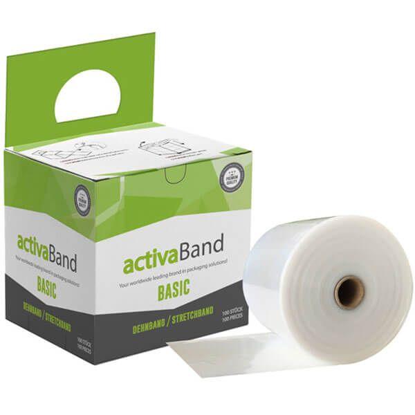 activaBand - Dehnband zur Palettensicherung für interne Lagertransporte