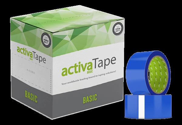 activaTape Basic - Klebeband blau 48mm x 66 lfm