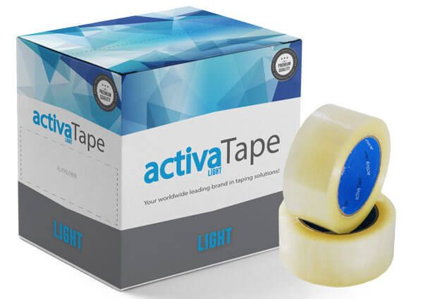 activaTape Light - Packband transparent 48 mm x 132 lfm