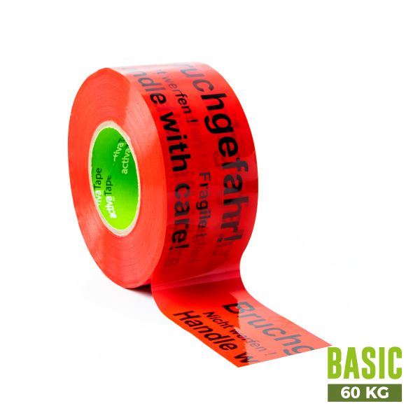 "activaTape Basic 48 mm x 150 lfm ""Bruchgefahr"""